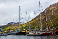 Boats in Isafjordur harbour