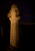 Woodford Church Graveyard - Painting with light