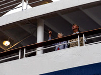 Passengers on the MV Marco Polo
