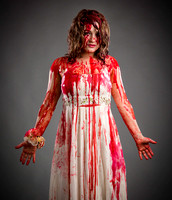 Model Maud as Carrie