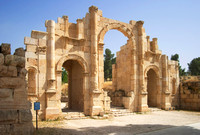 EW0514B-D02467 : The South Gate, the southern entrance to the city of Jerash, Jordan