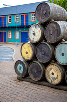 Barrels used in the herring trade