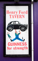 EX0521B-D02079-2 : A Guinness advert. In Ballinascarthy, Co Cork, Ireland.  The family of Henry Ford, the car manufacturer came from Ballinascarthy.