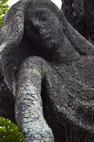 EX0518A-D01703 : Detail from the Children of Lir, Sculpture in the Garden of Remembrance, Parnell Square, Dublin.