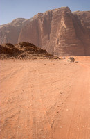 EW0511B-D02152 : Off-Road Vehicles driving in Wadi Rum, Jordan