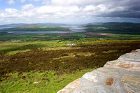 EX0526C-D02798 : The view from the top of Grianan Ailligh, an Iron Age hill fort built on a Neolithic burial mound in Co. Donegal, Ireland.