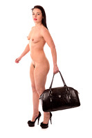 [FE0203A-E01346] Nude with handbag