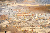 EW0514D-D02583 : The mosaic map of the Holy Land, at Saint George's Church, Madaba in Jordan
