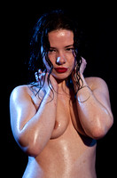 Wet-look glamour