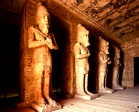 The Great Temple at Abu Simbel, Egypt.