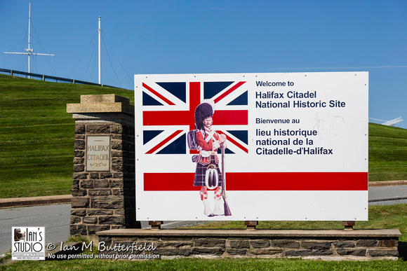 Entrance to Halifax Citadel