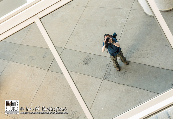 Reflections on a photographer