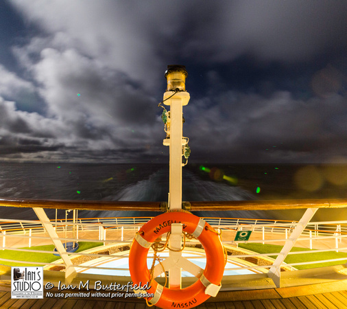 MV Magellan at Night