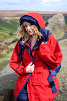 FB0902A-E05179 : Attractive blonde woman hill walking