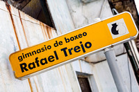 Sign for Rafael Trejo Boxing Gym