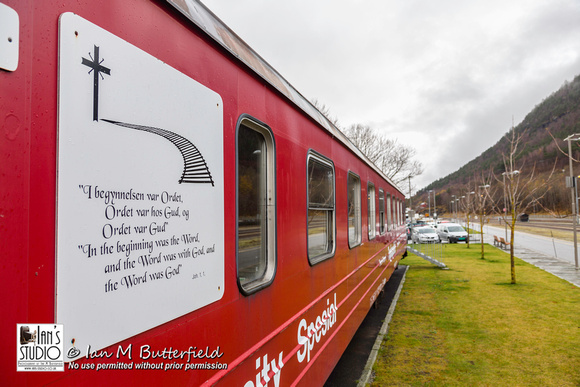 Train Chapel in Andalsnes