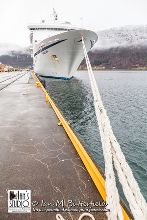 MV Magellan docked in Andalsnes