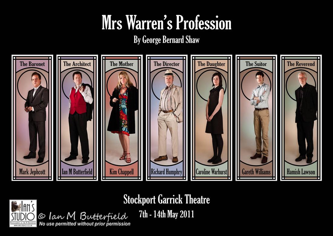 POTD (4 Years ago today) Mon, 18 Apr 2011: Mrs Warren's Profession