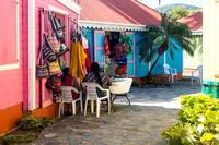 Colourful gift shops
